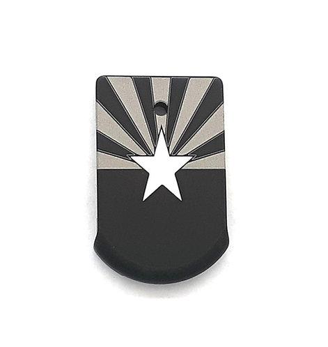Sig Sauer P365, XL magazine plate - AZ state flag