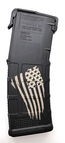 AR15 PMAG GEN 3 - One side engraved