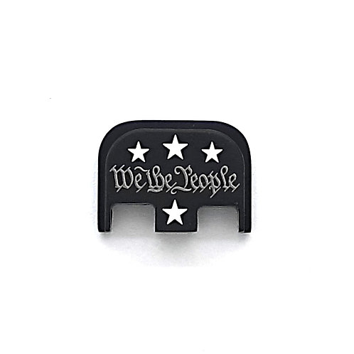 Glock Gen 1 - 5 slide plate - We The People