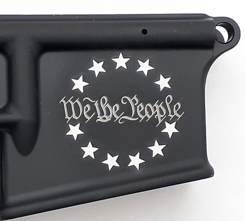 AR15 Lower Receiver - We The People - Stars