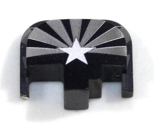 S&W M&P slide plate - AZ flag
