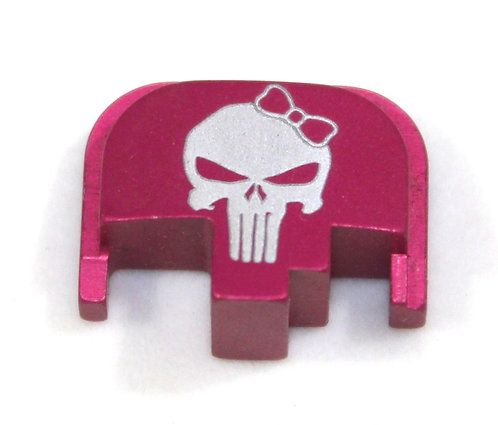 S&W M&P slide plate - Punisher with bow