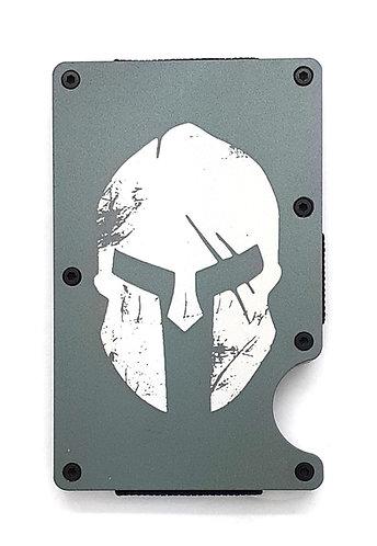 Minimalist RFID Wallet - Spartan Helmet