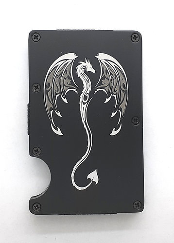 Minimalist RFID Wallet - Dragon
