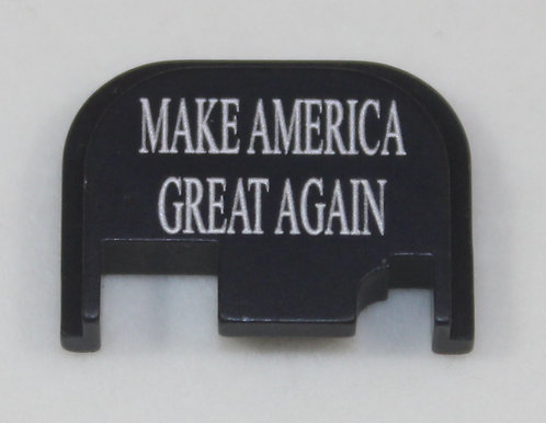 Glock Gen 1 - 4 slide plate - MAGA