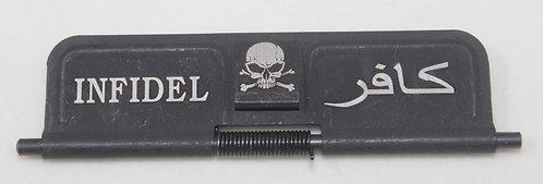 AR15 Port Door - Steel - closed & open sides