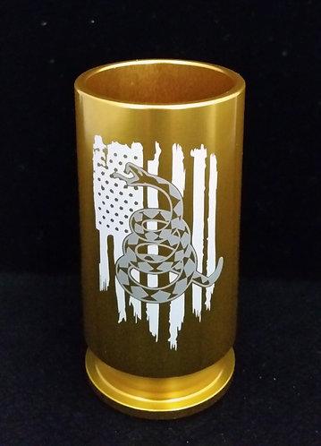 Shot Glass - U.S. Flag DTOM Snake