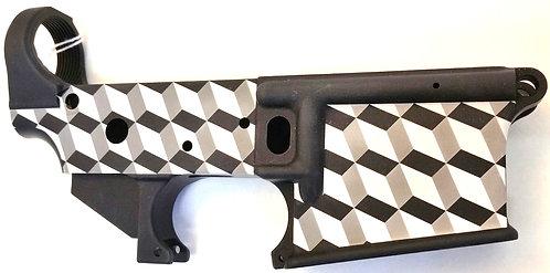 AR15 Lower - 3D Cube design