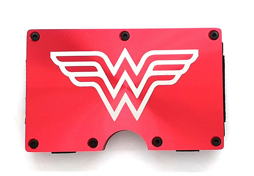 Minimalist RFID Wallet - Wonder Woman