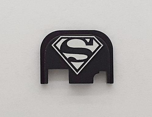 Glock Gen 1 - 4 slide plate - Superman logo