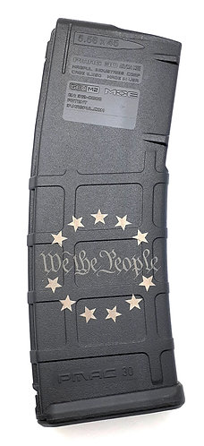 AR15 PMAG GEN 2 - Two sides engraved