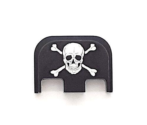 Glock Gen 1 - 5 slide plate - Skull & Crossbones