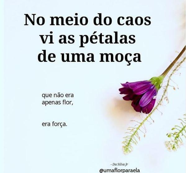 Fonte:@umaflorparaela