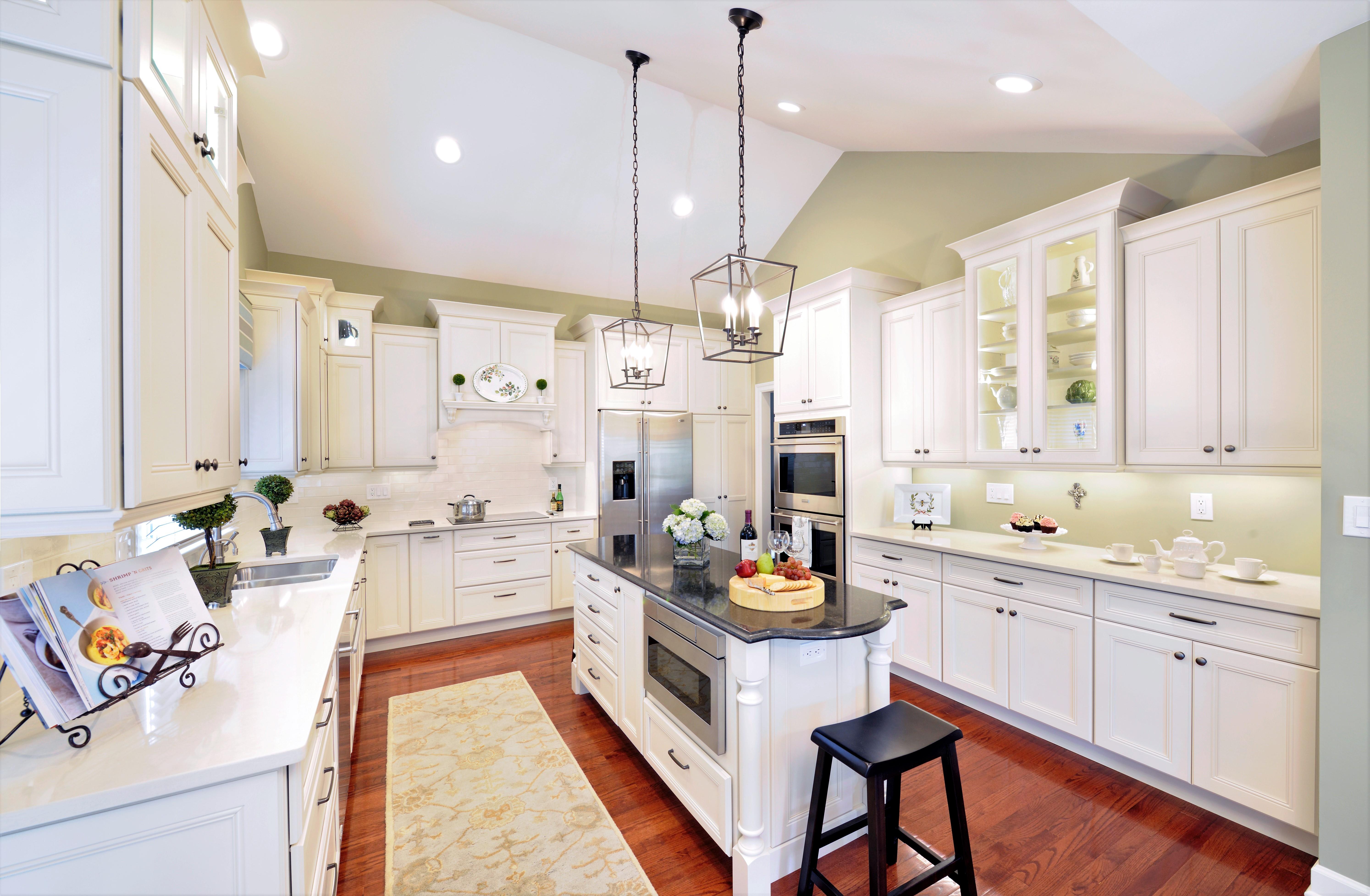 Transitional Villa Kitchen