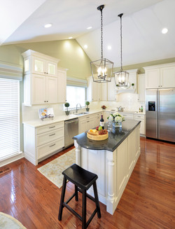 Transitional Villa Kitchen