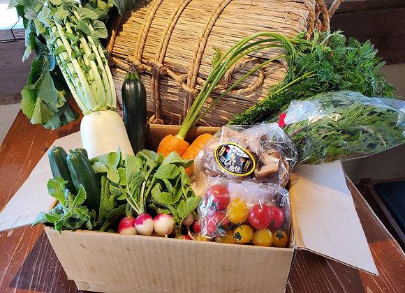 美味しく食べて神戸の農家を応援!【応援セット】新鮮野菜盛り合わせ