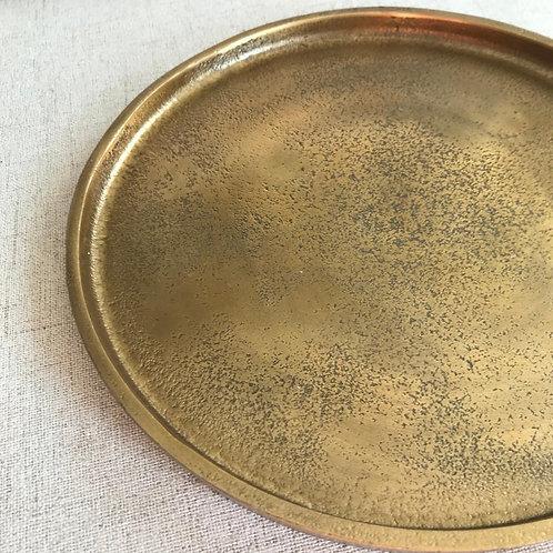 Decoratie blad goud