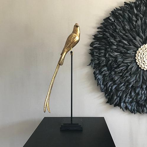 Vogel op statief