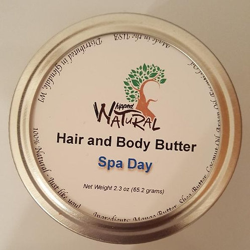 SPA DAY - Whipped Hair and Body Butter (Small)