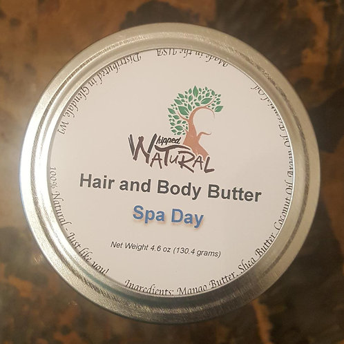 SPA DAY - Whipped Hair and Body Butter (Large)