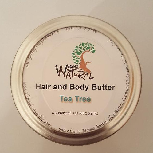 TEA TREE - Whipped Hair and Body Butter (Small)