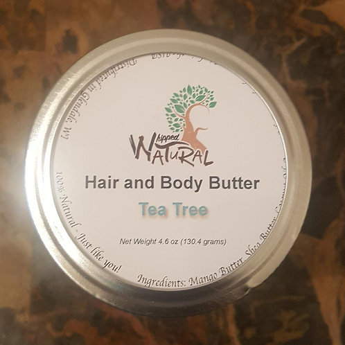 TEA TREE - Whipped Hair and Body Butter (Large)