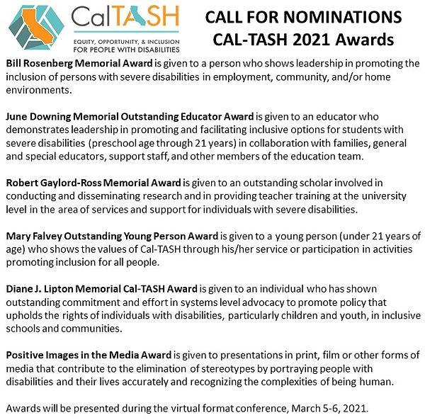 CalTASH 2021 Awards Nominations short.jp
