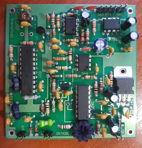 Simple single-band QRP CW Transceiver (40m or 20m bands) | ham-radio-rv3yf