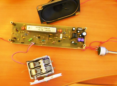 Простой приемник наблюдателя на двухзатворных транзисторах