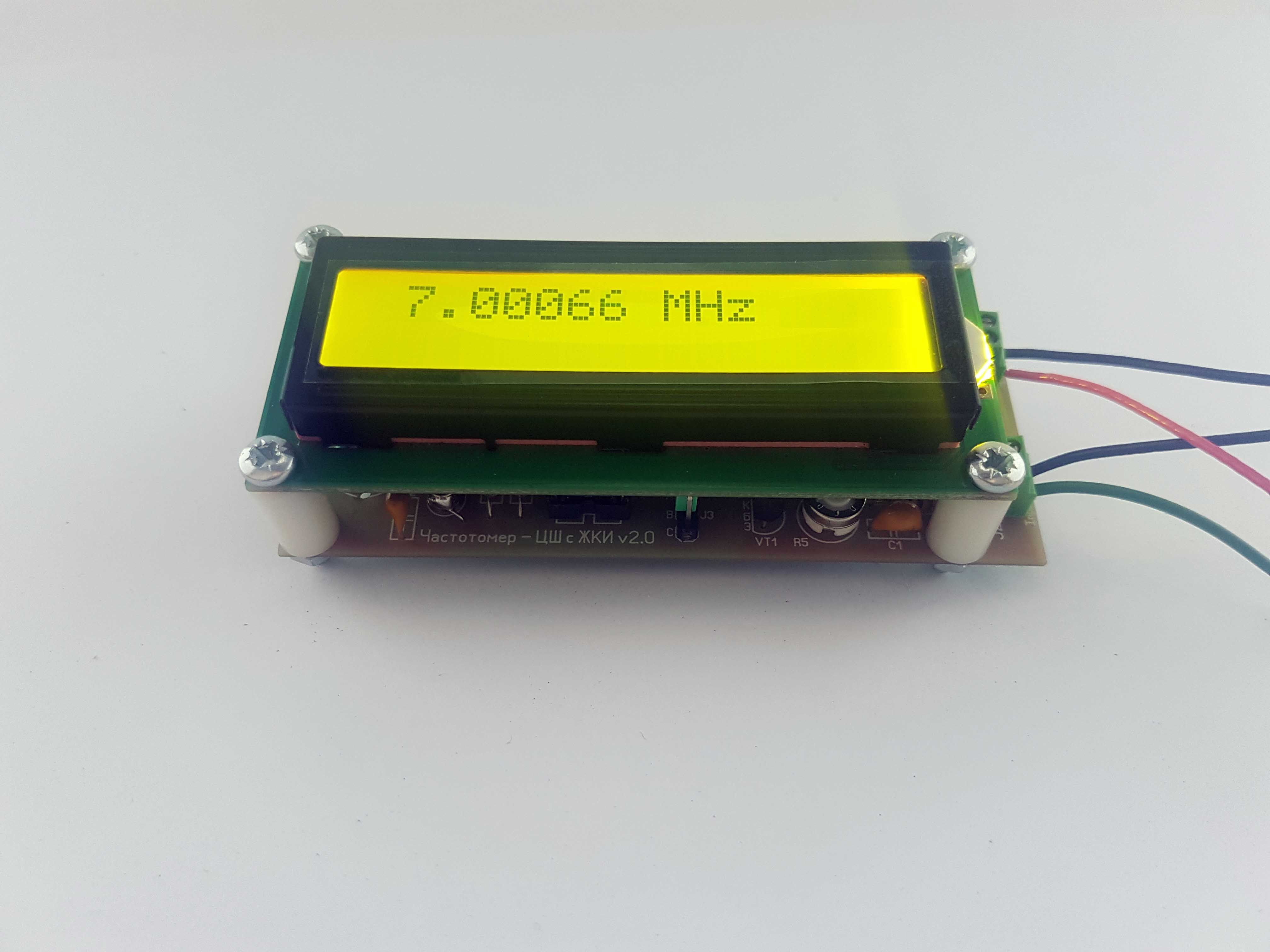 50 Mhz Frequency Counter