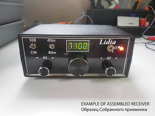 Простой двухдиапазонный приемник «Лидия-2» (40 и 80 метров)
