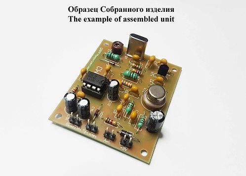 Простой телеграфный QRPP трансивер на диапазон 80 метров