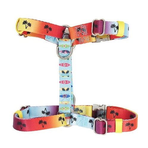 Frenchiestore Adjustable Pet Health Harness | California Dreamin'
