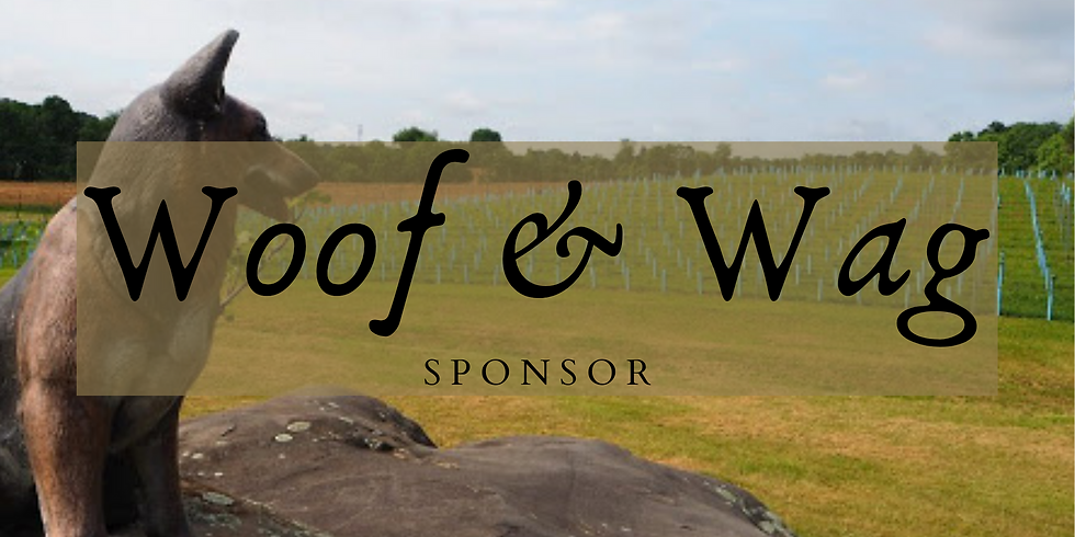 Sponsor Woof & Wag At The Winery
