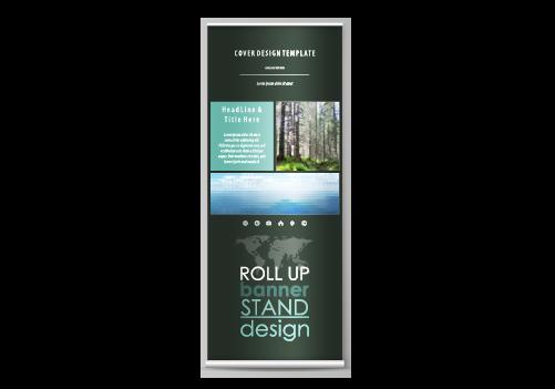 Werbetechnik Roll up Lichtreklame