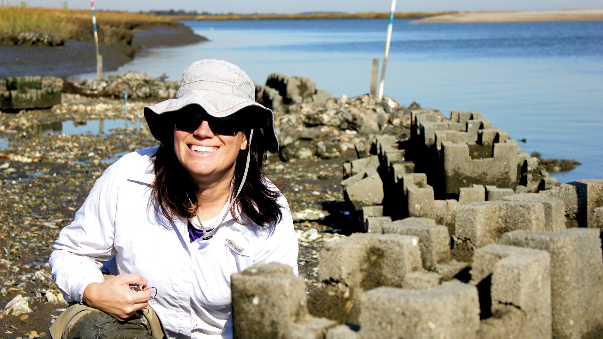 Angela and Oyster Castles.jpg