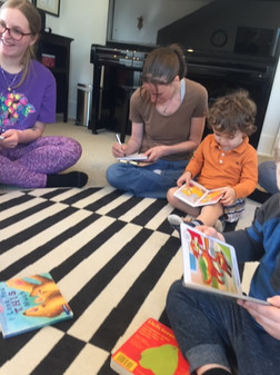 """""""I love how he enjoys reading, and I especially love that in this class he has a chance to read with friends."""""""