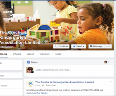 C&K Facebook profile