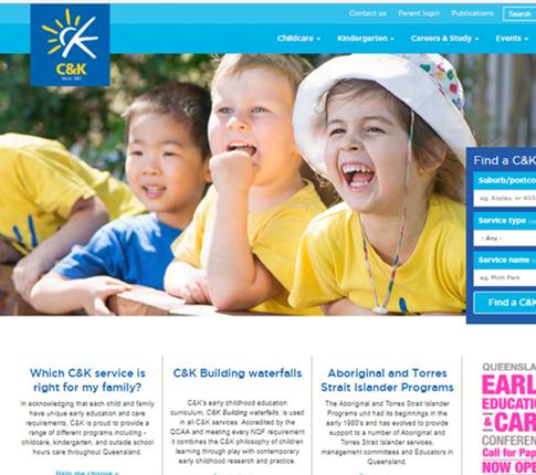 New C&K website