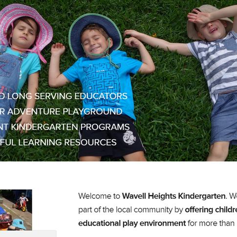 New website for a wonderful kindergarten