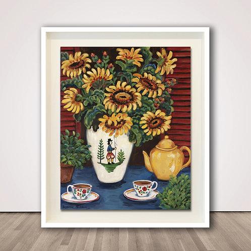 선플라워 티 | Sunflower Tea