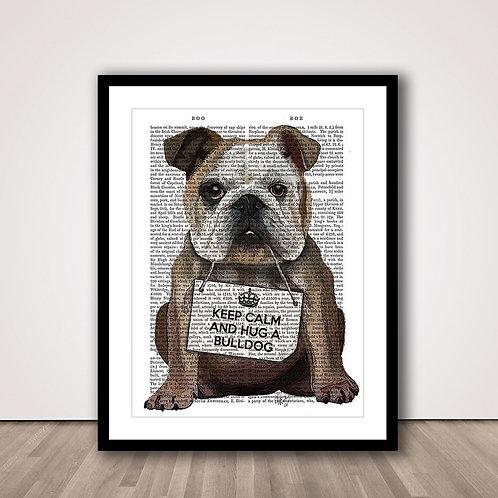 허그 불독   Hug a Bulldog