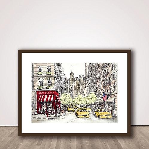 카페거리 뉴욕 | New yorker