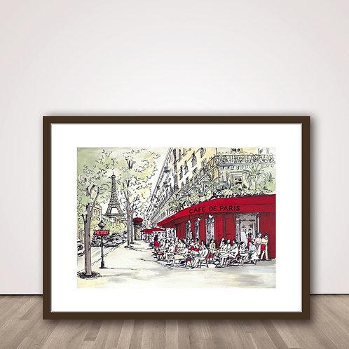 카페거리 파리 | Cafe De Paris