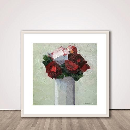 레드 부케 | Red Bouquet