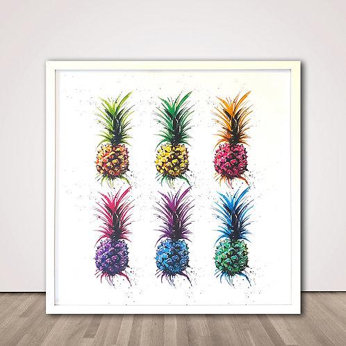 파인애플 레인보우   Pineapple Rainbow