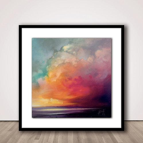선셋 |  Sunset cumulus Study