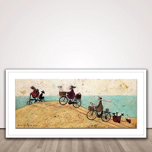 샘토프트 일렉트릭 바이크 | Electric Bike Ride