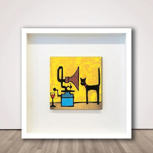 테이블고양이2 | Cat & Gramophone