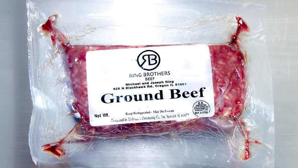 Ground Beef Cryovac